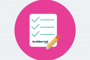 Healthwatch Bury report icon